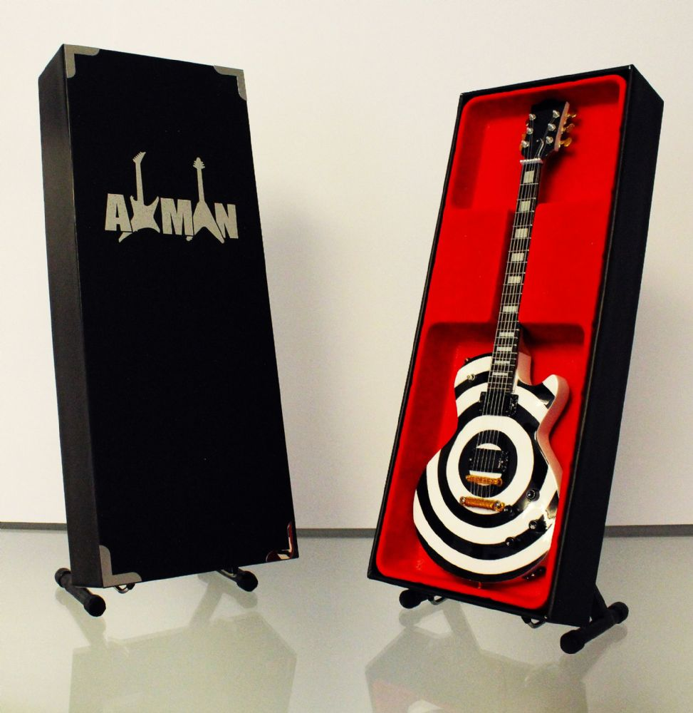 (Black Label Society) Zakk Wylde: Miniature Guitar Replica (UK Seller)